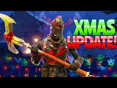 XMAS UPDATE! (Fortnite Battle Royale)