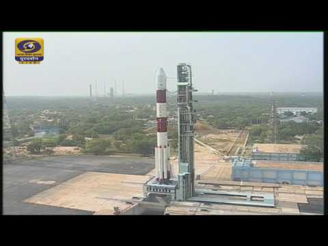The launch of PSLV–C37/CARTOSAT – 2 Series Satellite - Live