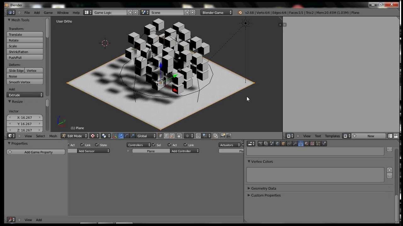 Blender Game Engine Explosion Tutorial