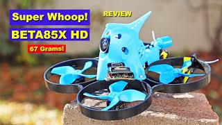 The BETA85X HD is a BIG FPV Drone in a TINY package. REVIEW