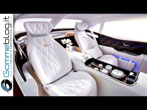 Vision Mercedes Maybach Ultimate Most Luxury SUV - INTERIOR