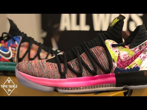 "The RAREST Nike KD Shoe Ever? In-Depth Review of the KD 10 ""What The"""