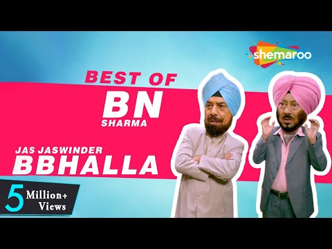 Total Dhamaal | Best Of BN Sharma & Jaswinder Bhalla | New Punjabi Comedy Video