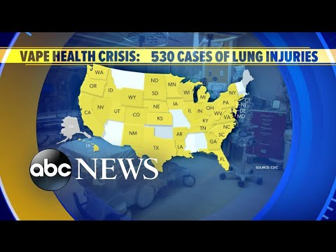 New death reported amid vaping emergency l ABC News