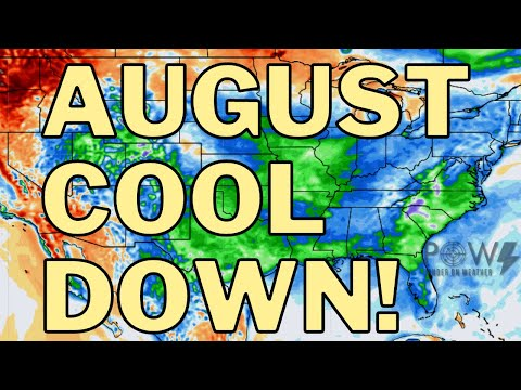 Flash Flooding, Upcoming Cooldown & Tropical Disturbance! POW Weather Channel
