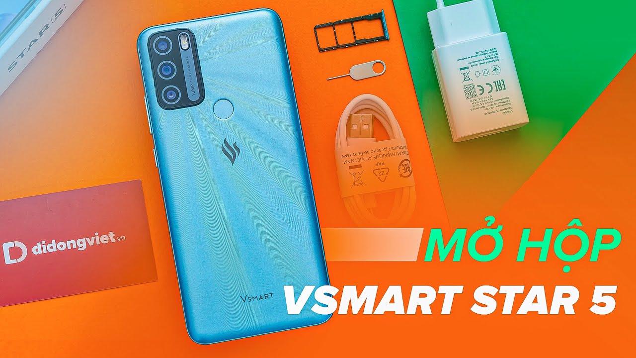 Vsmart Star 5: Pin 5000 mAh, 3 camera, giá 2,3 triệu đồng