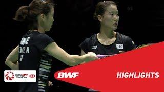 YONEX Swiss Open | WD Semifinals Highlights | BWF 2019