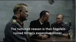 Hitler is in a bad mood