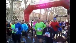 Salida Medio Maratón León 2012