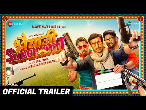 Bhaiaji Superhit - Movie Trailer Image