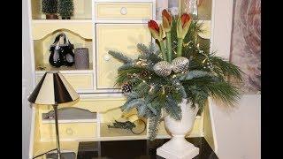 Imke Riedebusch Weihnachtsdeko.Weihnachtliche Aussendeko Auf Balken Bärbel S Wohn Deko Ideen