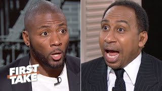 Stephen A. and Ryan Clark debate No.1 Ohio State being ranked ahead of LSU | First Take