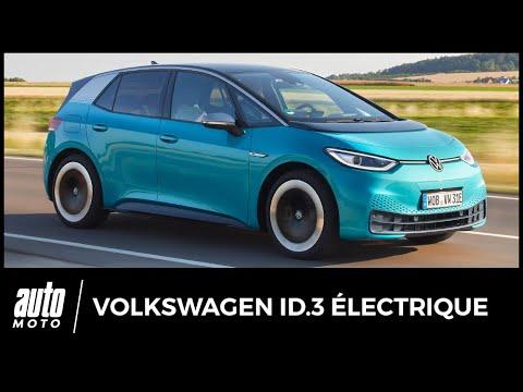 Essai Volkswagen ID.3 électrique : notre avis au volant