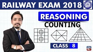 Counting of Figures | Reasoning | Class - 8 | RRB | Railway ALP / Group D | Live At 8 PM