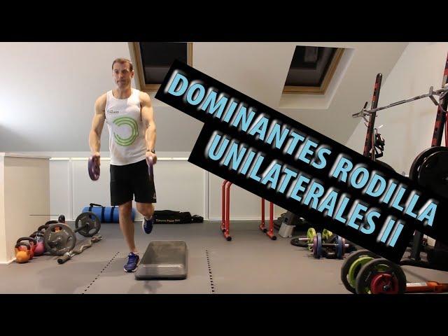 Dominantes rodilla unilaterales II (5 nuevos ejercicios avanzados)