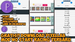 Download Aplikasi PixelLab Mod Number Start Racing Terbaru November 2018
