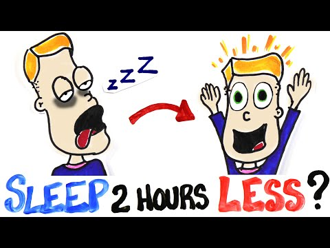 Co když budete spát každou noc o dvě hodiny méně?