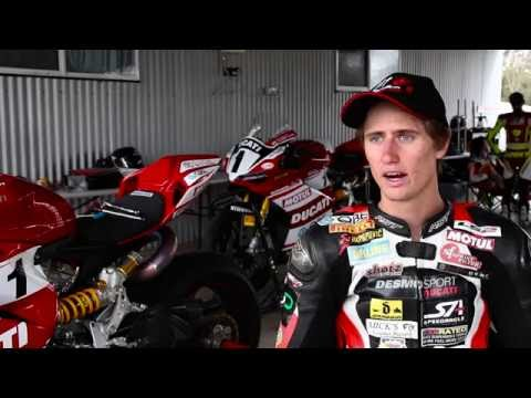 Download Woolich Racing Testing At The Track With Desmosport Ducati