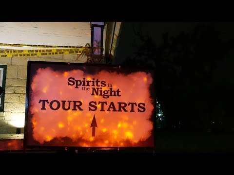 Behind the Screams Video Thumbnail for Spirits in the Night - October 6th, 2017