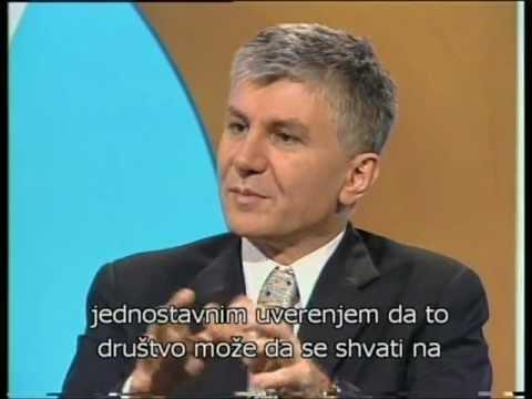 Zoran Đinđić - intervju na nemačkom jeziku