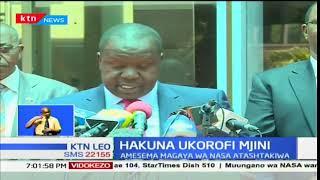 Fred Matiang'i aharamisha maandamano katika miji ya Nairobi na Kisumu