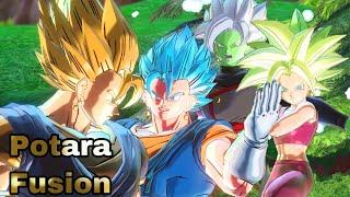 Using All Potara FUSION Characters In Dragon Ball Xenoverse 2