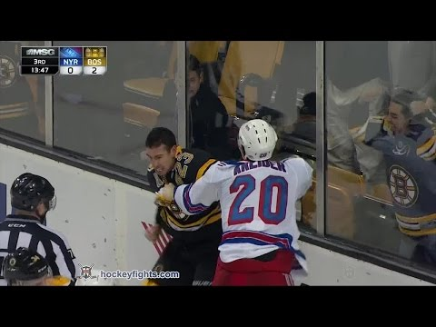 Chris Kelly vs. Chris Kreider