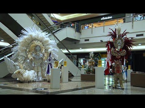 Shopping expõe fantasias das Escolas de Samba de Nova Friburgo