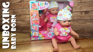 Unboxing Zapf Creation BABY born Puppe Soft Touch Little Girl [4K]