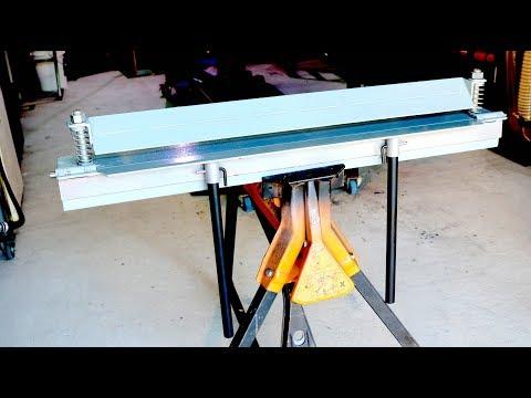 DIY Sheet Metal Folder - Forme Industrious