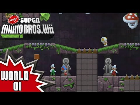Newer Super Mario Bros Wii Walkthrough World 8 4 4 By