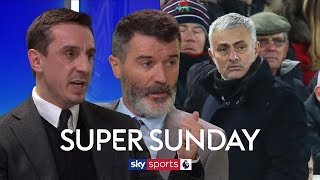 Roy Keane & Gary Neville on whether sacking Mourinho would fix Man United's problems | Super Sunday