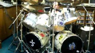 Little Feat - Long Time Till I Get Over You--drum cover