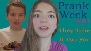 Prank Week [1] - Jordan and Jake Take It Too Far / That YouTub3 Family
