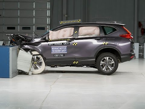 2017 honda cr v crashes its way to iihs top safety pick autoevolution. Black Bedroom Furniture Sets. Home Design Ideas