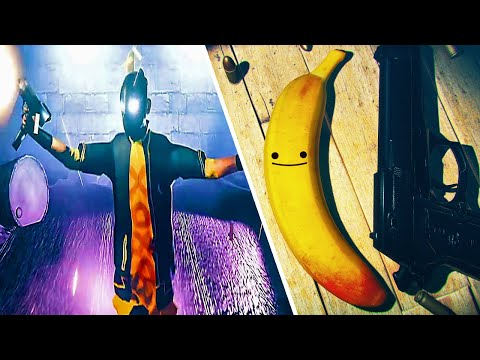 Destroying My Worst Enemies With My Banana Sidekick - Slow Motion Gun Ballet - My Friend Pedro