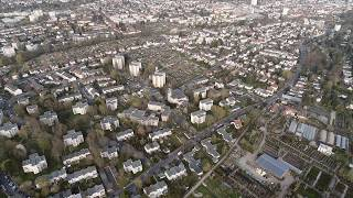 BAD HOMBURG und OBERURSEL | Aerial Photography | DJI Phantom 4