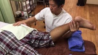坐骨神経痛の温熱療法動画