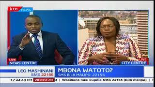 Mtetezi wa haki za watoto, Betty Adera katika mazungumuzu mauaji ya watoto wadogo