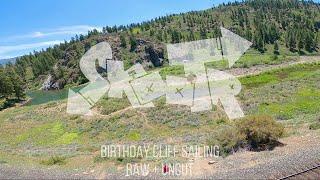 Birthday Cliff Sailing | Raw + Uncut | FPV Drone Freestyle