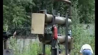 Переработка б/у шин в топливо- пиролиз.