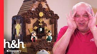 ¡Un pastel de reloj cucú!  | Cake Boss | Discovery H&H