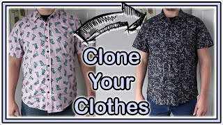 Why Your Knock Off Sucks   How To Make Patterns From Your Clothes