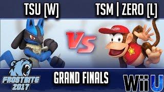 Frostbite 2017 GRAND FINALS - tsu [W] (Lucario) vs TSM | ZeRo [L] (Diddy Kong)