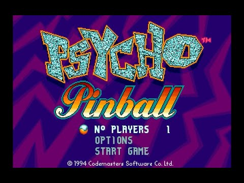 Psycho Pinball Megadrive