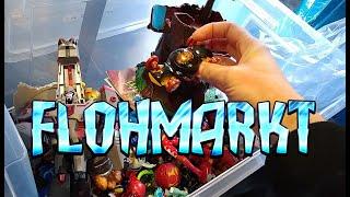 FLOHMARKT ACTION LIVE #28 Mega-Flohmarkt XXL Teil 1 - Trödelmarkt Retro Haul