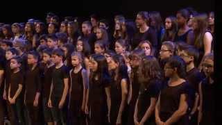 """Video thumbnail of """"""""Immortels"""" Dominique A / chorale du Collège REVERDY (Sablé sur Sarthe - Marc Leroy)"""""""