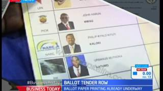 Ballot tender row : There is uncertainty on the ballot papers to be used during the general election