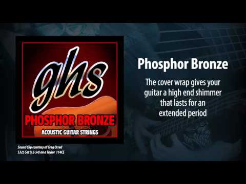GHS Strings - Phosphor Bronze Acoustic Strings
