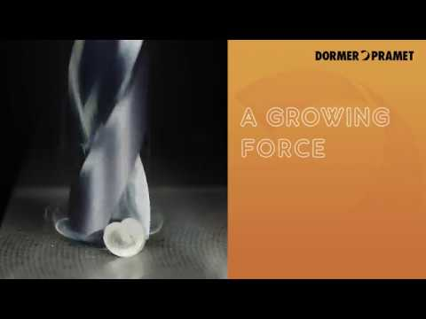 Dormer Force M drills for stainless steel
